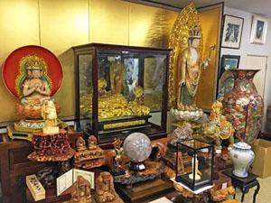 仏像展示1